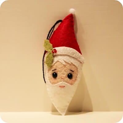 Вот такой Дед Мороз у нас должен получиться