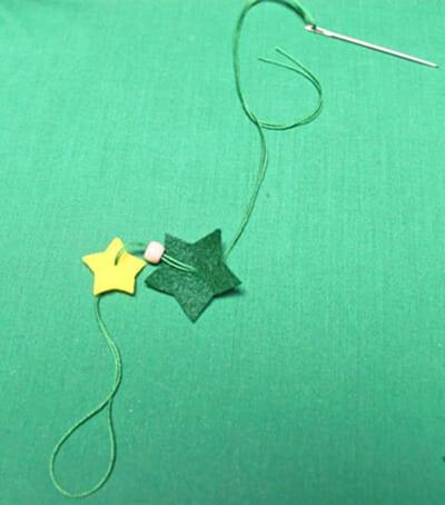 Бусинку и звездочку