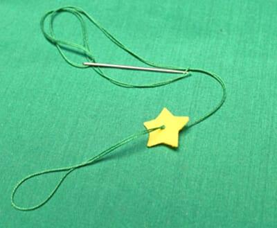 Нанизываем звездочку
