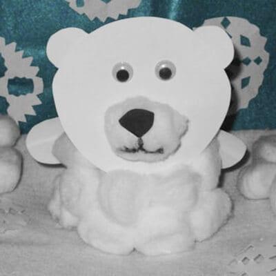 Медвежонок из стаканчика