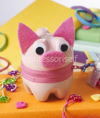 Свинка для хранения мелочей