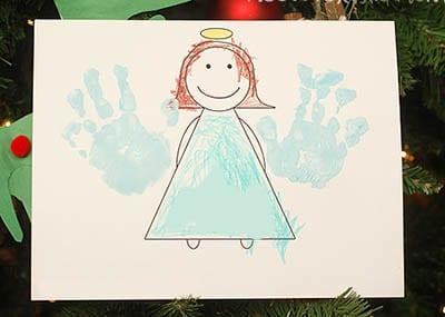 Рисунок ангел