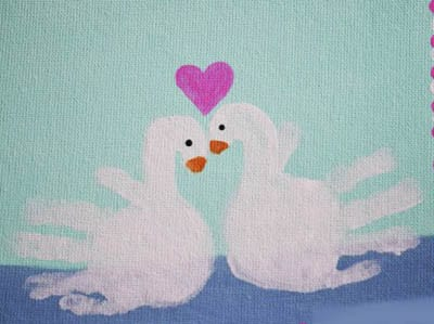 Рисунок влюбленные лебеди