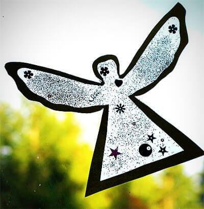 Ангел на окошко