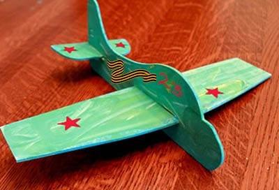 Самолетик к 23 февраля