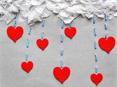 Поделка на день влюбленных