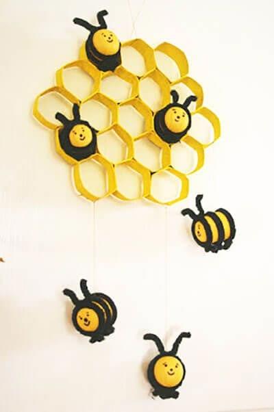 Поделка пчелы из киндер сюрприз 46