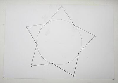 Рисуем звезду по точкам
