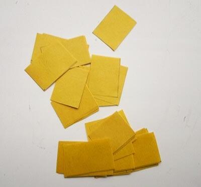 Нарезаем полоски на квадратики