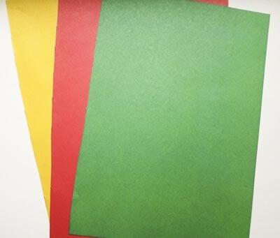Тонкая цветная двусторонняя бумага