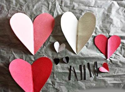 Сердечки для поделки