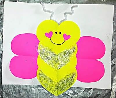 Бабочка на день Влюбленных