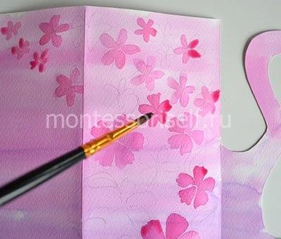 Рисуем цветочки
