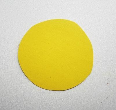 Желтый круг
