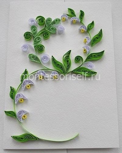 """Оформляем """"перышками"""" и """"цветочками"""""""