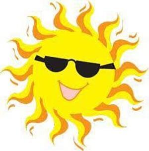 Картинка солнышко в очках 3