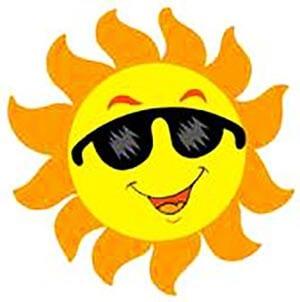 Картинка солнышко в очках 1