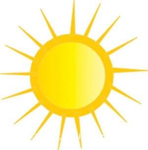 Картинка солнце 7
