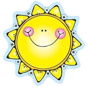 Картинка улыбающееся солнышко 2