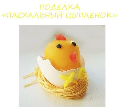Цыпленок на Пасху