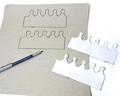 Контуры для вырезания на картоне