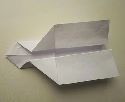 Ракета из бумаги 8