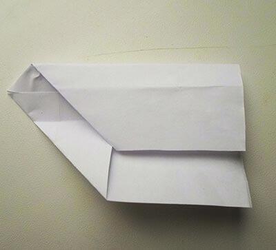 Ракета из бумаги 6