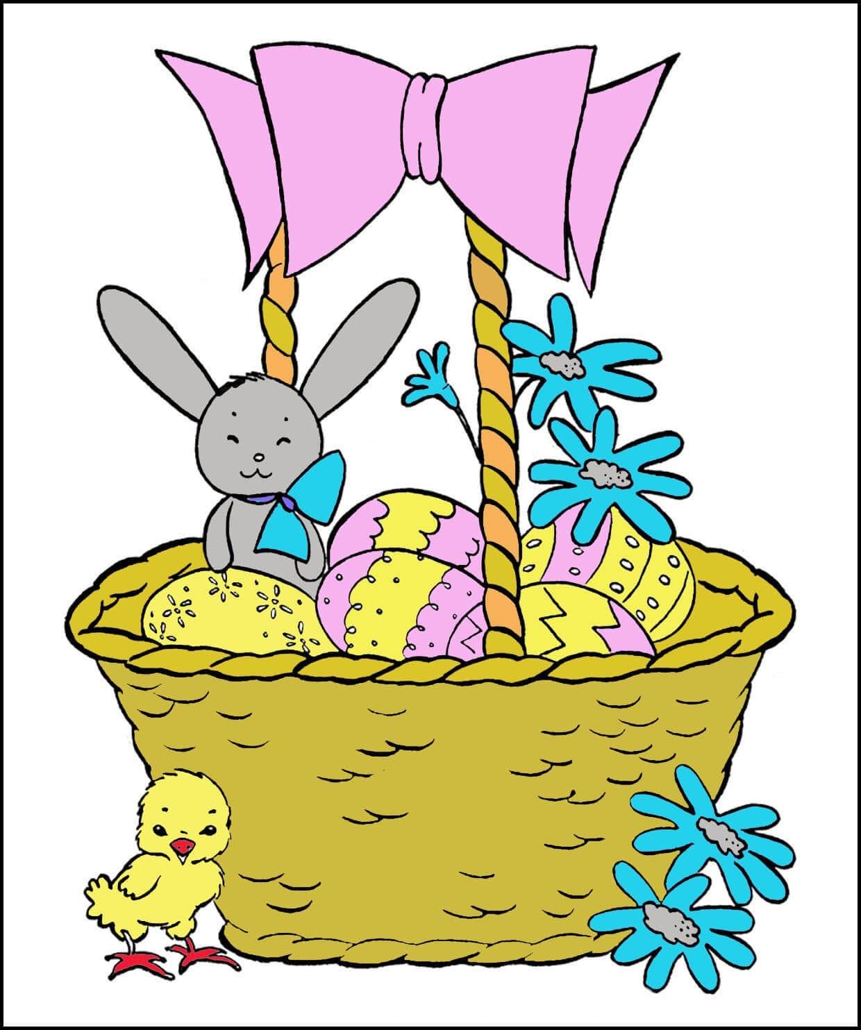 Картинка на Пасху для детского сада