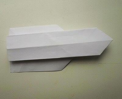 Ракета из бумаги 9