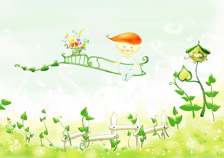 Весенний малыш картинка 1