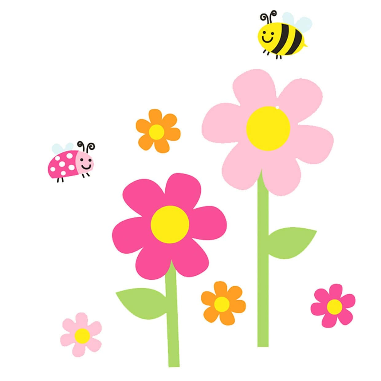Весна и цветы картинка для детей 1