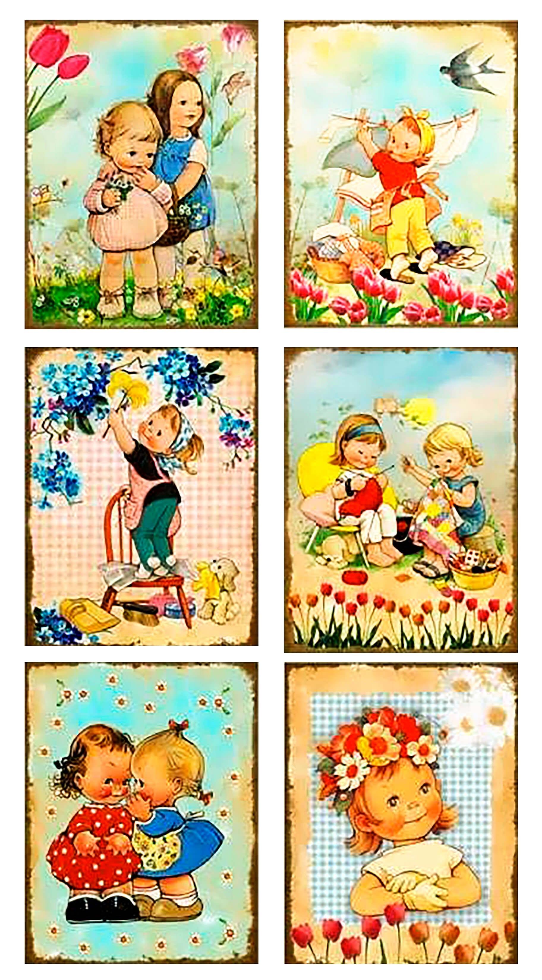 Иллюстрации для детей весна