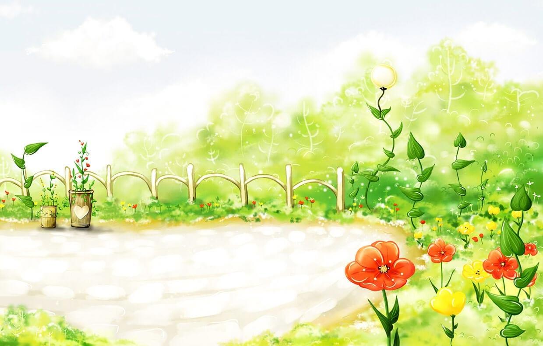 Весна картинка для детей 2