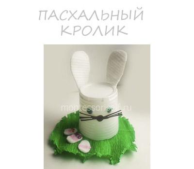 Поделка пасхальный кролик