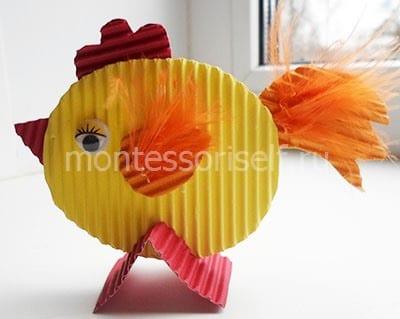 Cock of a corrugated cardboard