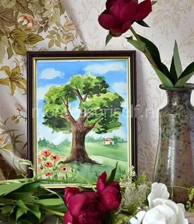 Рисунок дерево поэтапно