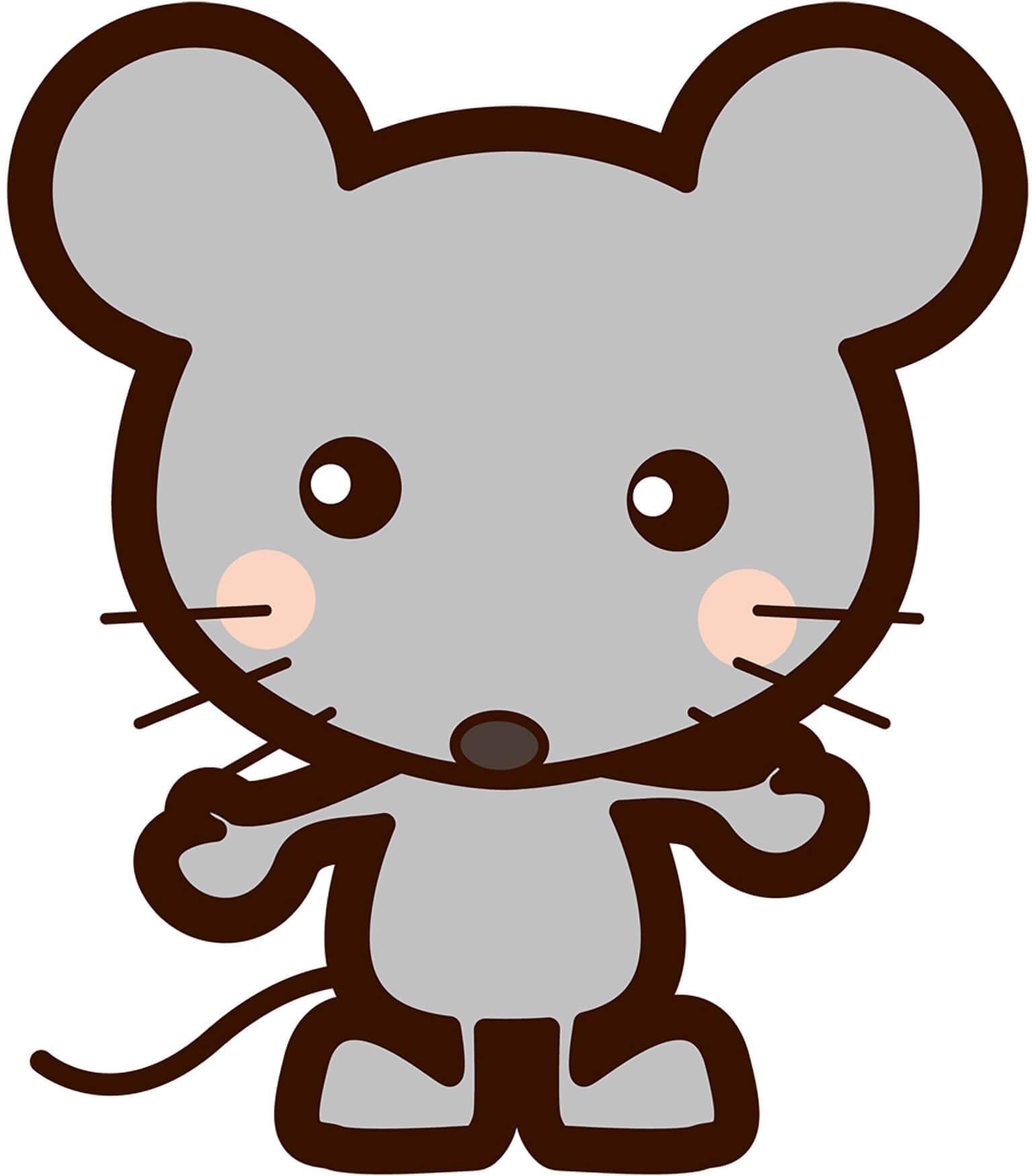 Мышка картинка для детей 7