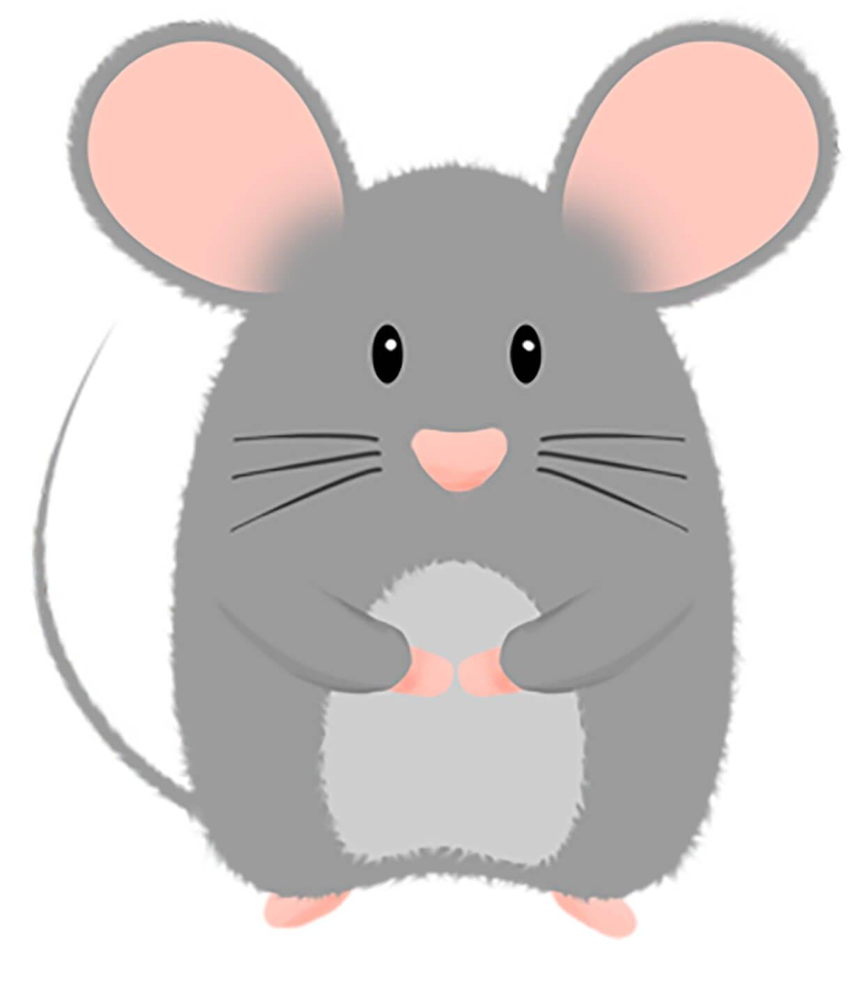 Мышка картинка для детей 3