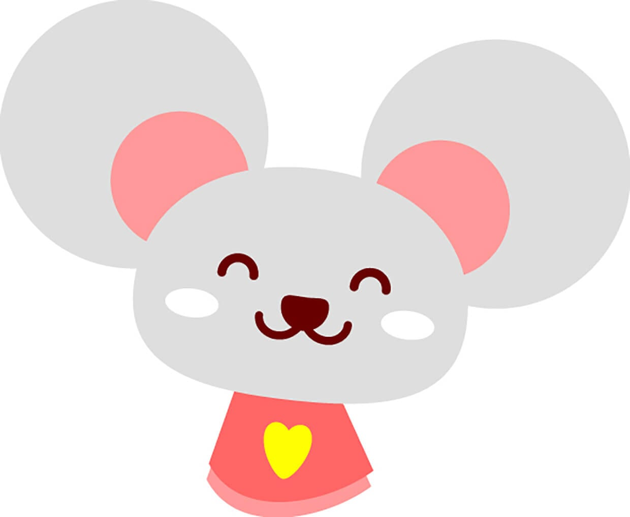 Mouse in a dress