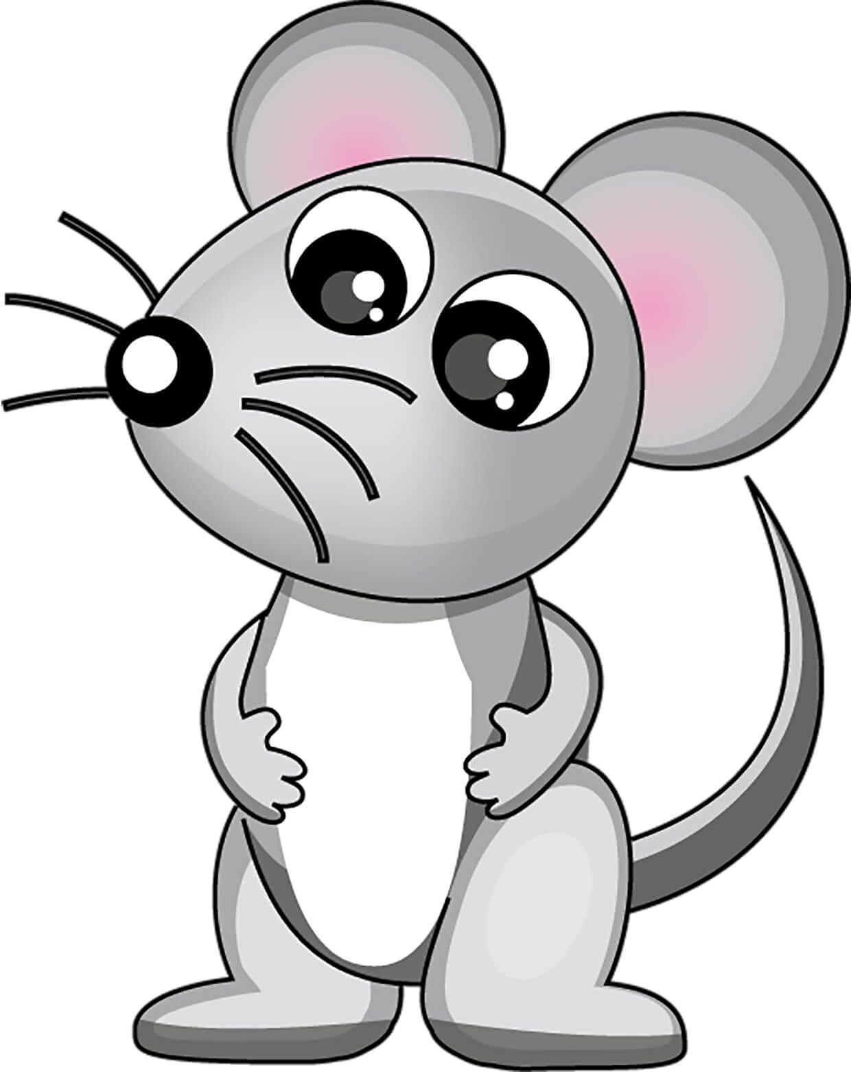 Мышка картинка для детей 10