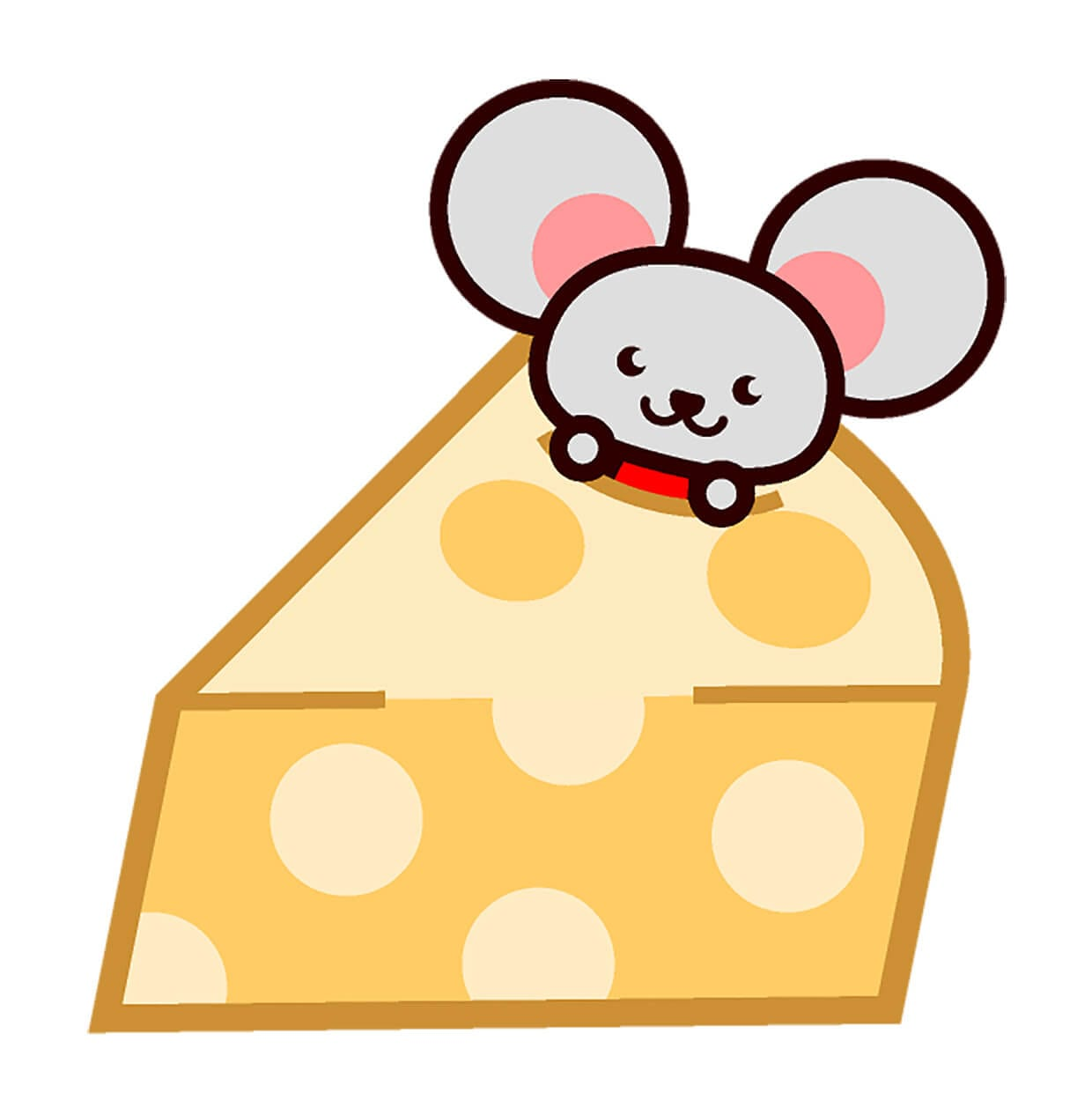Мышка выглядывает из сыра картинка