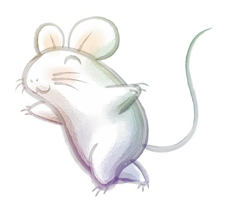 Рисунок мышка 4