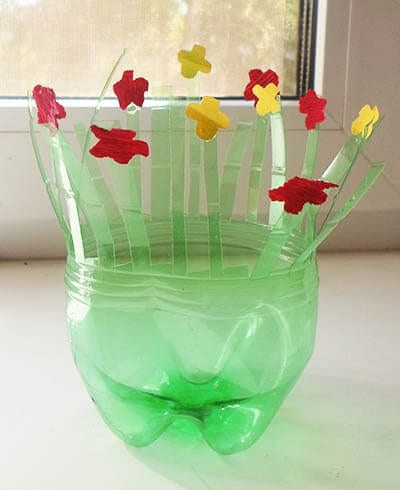 Glue flowers