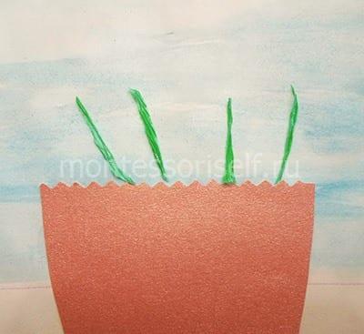 Зеленые стебельки