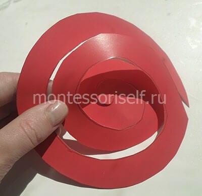 Бумажная спираль