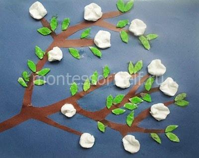 Окрасили листики