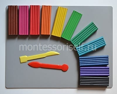 Цветной пластилин