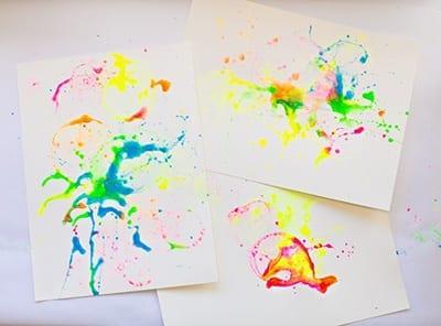 Цветные отпечатки
