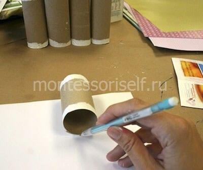 Отмечаем на бумаге нужный размер