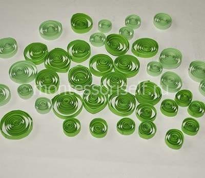 Зеленые роллы